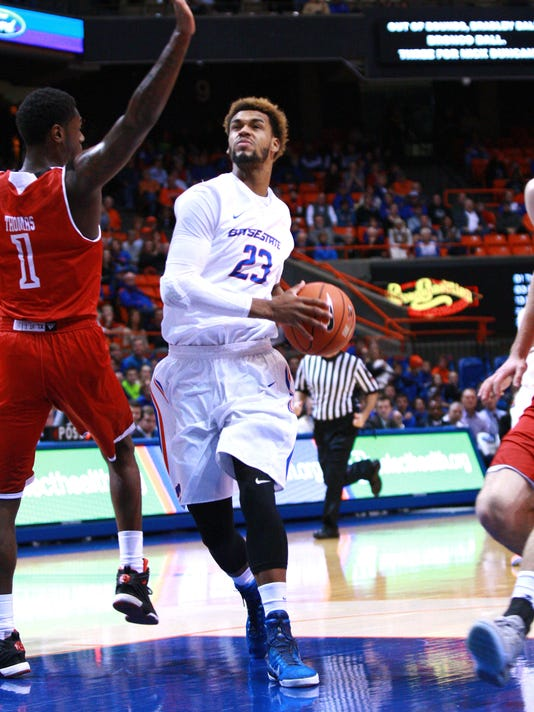 NCAA Basketball: Bradley at Boise State