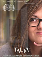 """Poster for documentary """"Talia"""" showing during the Naples"""