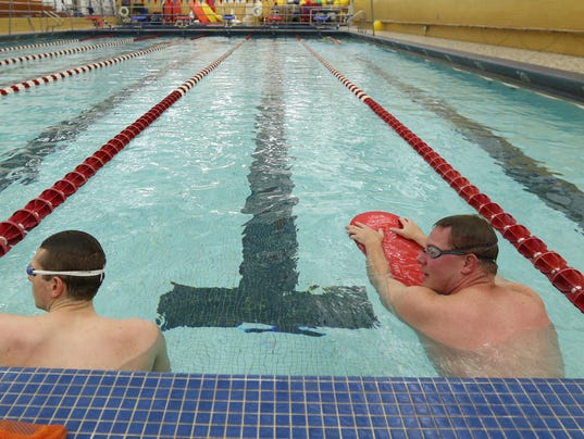 Cancer Diagnosis Leads Swimmer Back To Pool