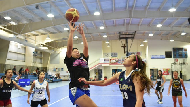 The Guam Basketball Confederation holds a U18 girls' basketball tryouts at the Bishop Baumgartner Memorial School gym in Sinajana in this Jan. 31 file photo. The Guam Basketball Confederation held the first session in the Guam Summer Camp Series at the Guam Basketball National Training Center last weekend.