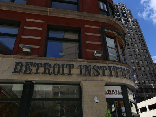 The Detroit Institute of Music Education at Capitol Park in downtown Detroit.