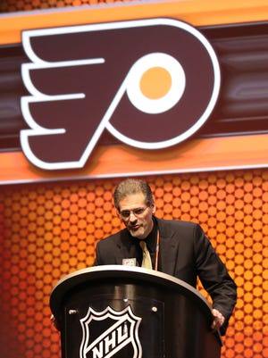 Flyers general manager Ron Hextall.