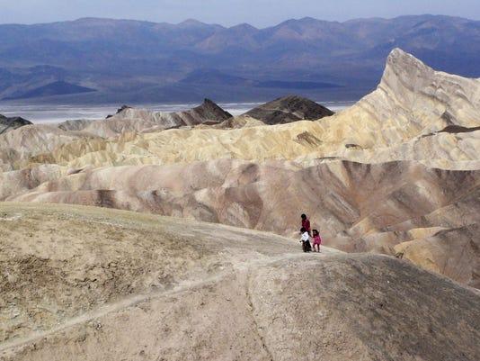 Heat Wave Death Valley