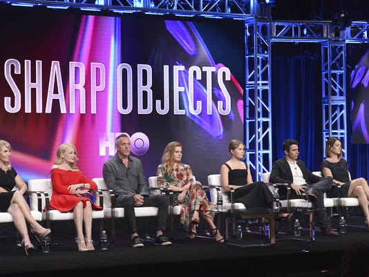 Marti Noxon, Patricia Clarkson, Jean-Marc Vallee, Amy Adams, Eliza Scanlen, Chris Messina, Gillian Flynn