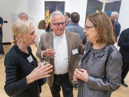 From left, Allan Benton, Bobby Switzer and Vivian Spencer