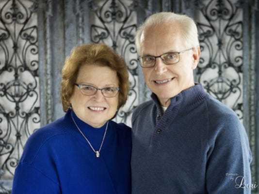 Anniversaries: David Weckerly & Lorraine Weckerly