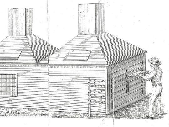A Dyson-designed evaporator.