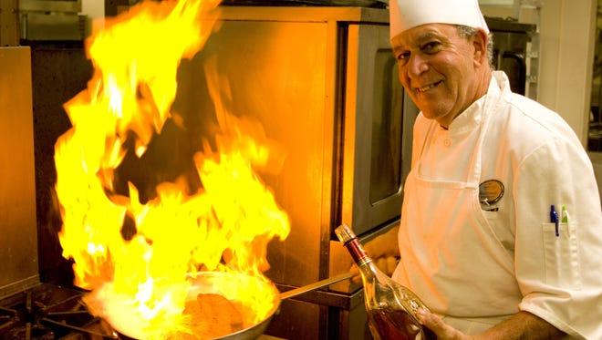 Chef Brad Francis .