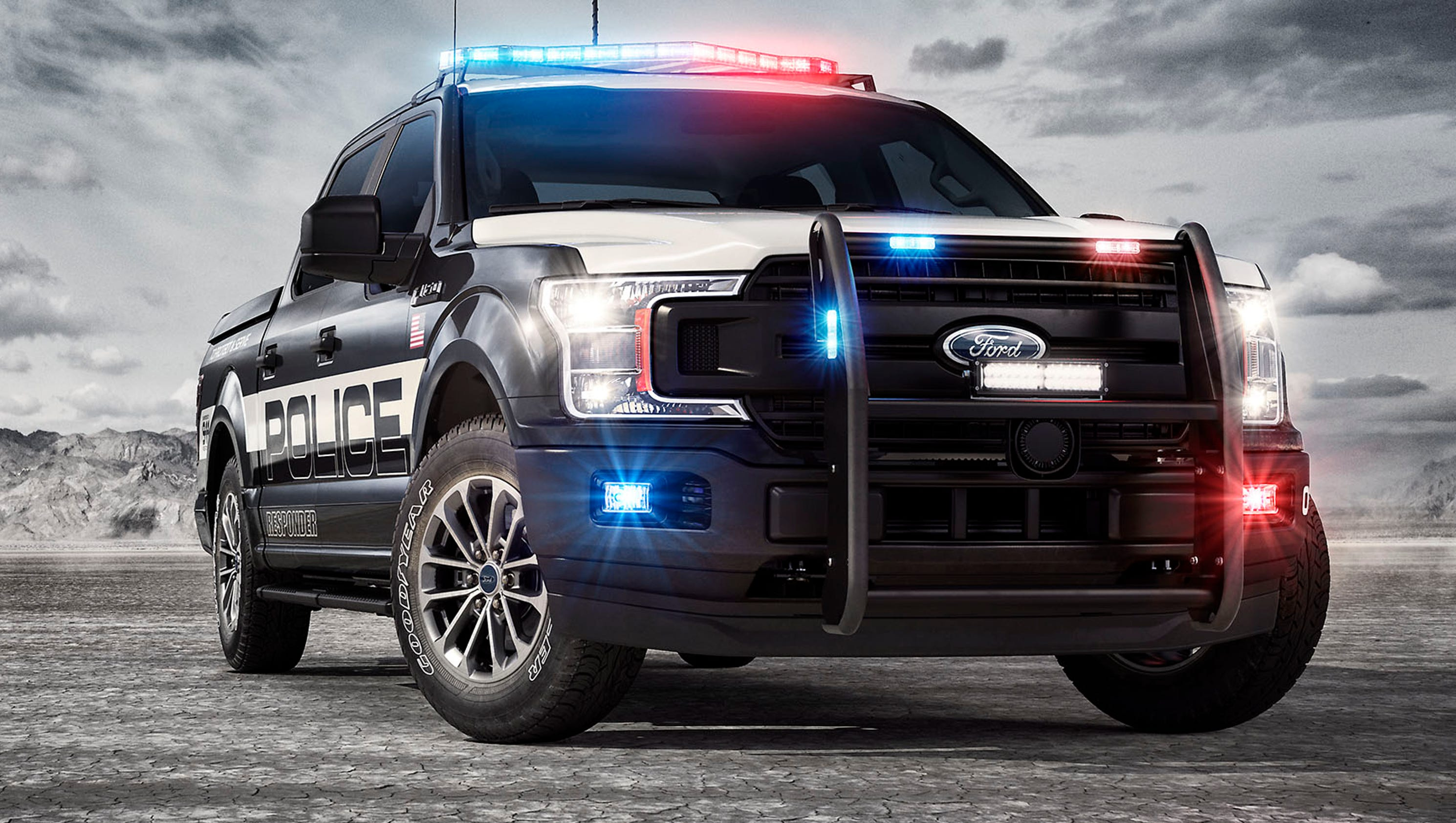 Ford creates a pursuit-rated police pickup truck