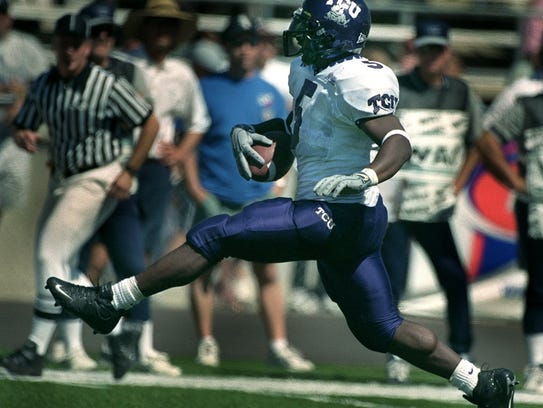 TCU?s LaDainian Tomlinson ran for three TDs vs. the