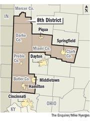 Ohio's 8th Congressional District.