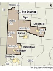 Ohio's 8th Congressional District.