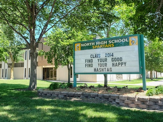 Oshkosh North High School, 1100 W. Smith Ave.