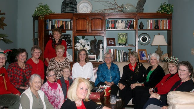 The Heritage Garden Club celebrated their Christmas Luncheon in style.