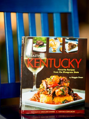 """Maggie Green's """"Tasting Kentucky"""" cookbook has recipes from restaurants around Kentucky, including Otto's in Covington."""