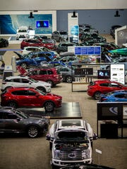 More than 400 vehicles filled the Duke Energy Convention Center at last year's Cincinnati Auto Expo.