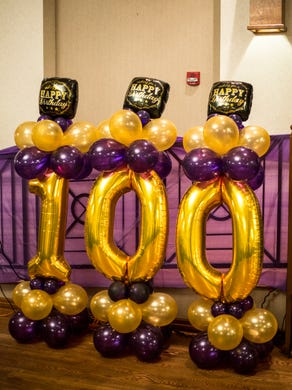June 20, 2018 - Scenes from Jerry Johnson's 100th birthday