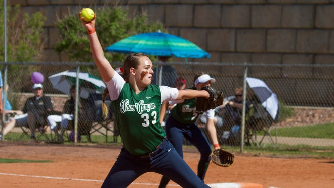 Snow Canyon shuts out Desert Hills for a 4-0 victory Tuesday, May 3, 2016.