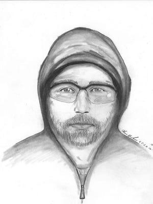 Robber suspect sketch.
