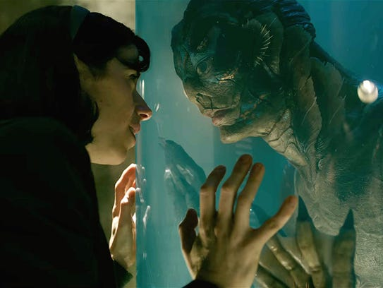 Creatures from the love lagoon: Sally Hawkins and Doug