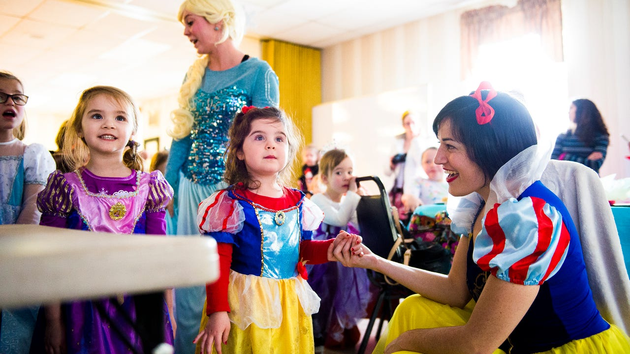 Video: Black Rose Rollers host Princess Tea Party