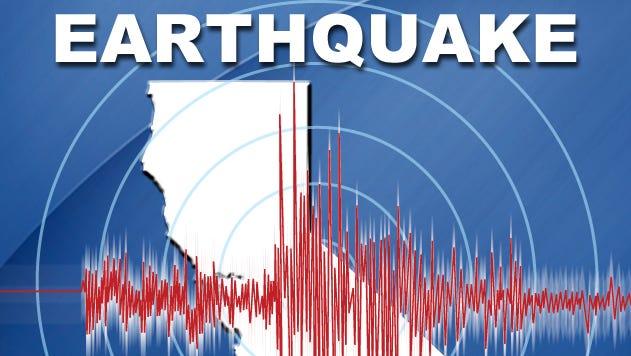 Earthquake in California.