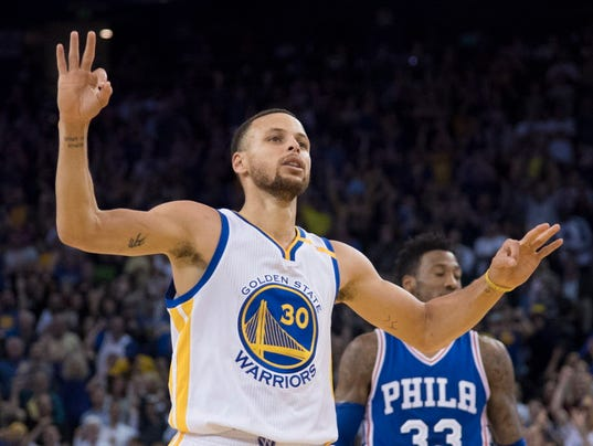 USP NBA: PHILADELPHIA 76ERS AT GOLDEN STATE WARRIO S BKN USA CA