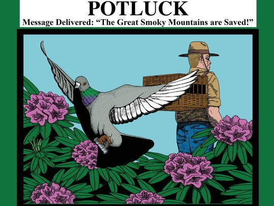 """Marci Spencer will read from her new children's book, """"Potluck, Message Delivered,"""" Sunday at Ridgecrest Conference Center in Black Mountain."""