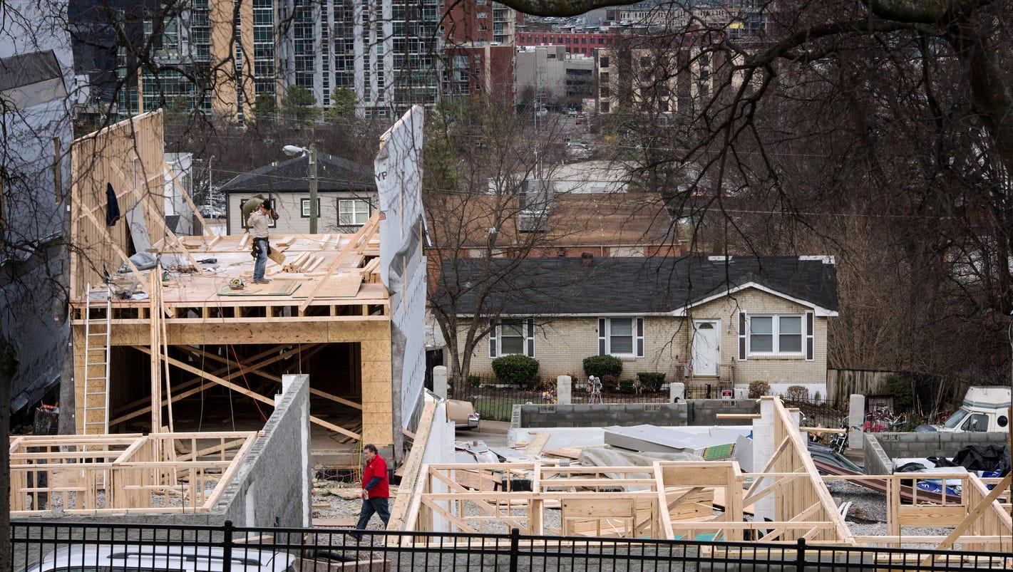 nashville u0027s record reappraisal where have property values soared