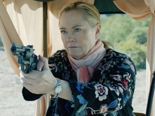 "Cybill Shepherd is an ex-police officer in ""Rose,"""