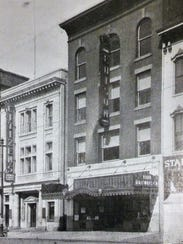This is a photo of 31 W. Market St. in 1929 (building