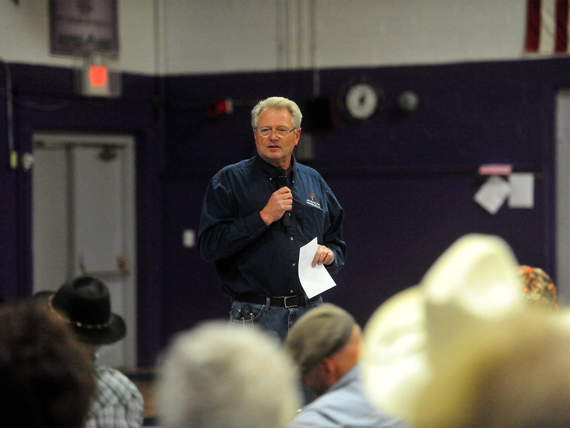 Gary Bertellotti, Region 4 supervisor for Montana Fish,
