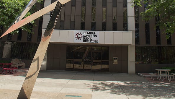 Elmira Savings Bank is headquartered at 333 E. Water