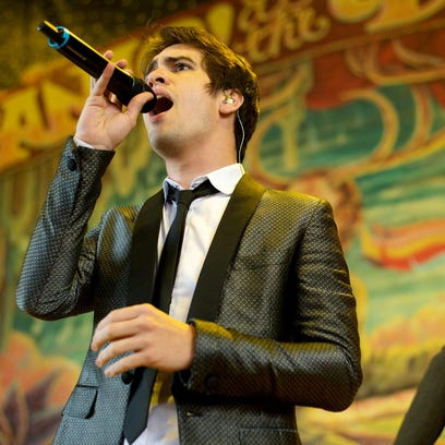 Panic! at the Disco performs at Riverbend Music Center