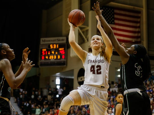 Strafford's Hayley Frank is ranked as one of the top high school basketball players in the country.
