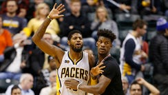 Paul George and Jimmy Butler are at the center of the