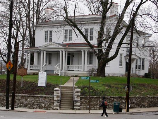 The Harriet Beecher Stowe house at 2950 Gilbert Avenue,