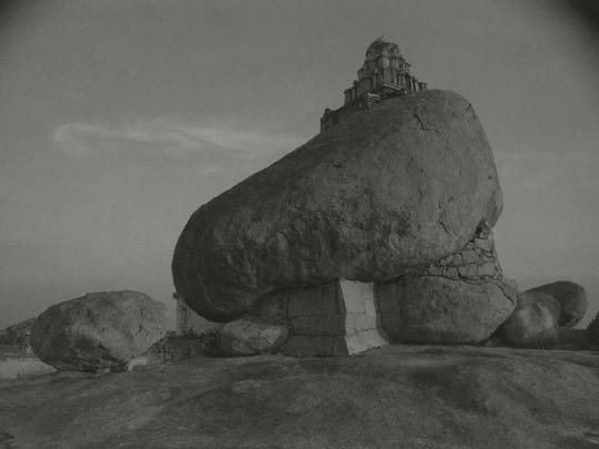 "Kenro Izu captured ""Vijayanager #15"" in Hampi, India."