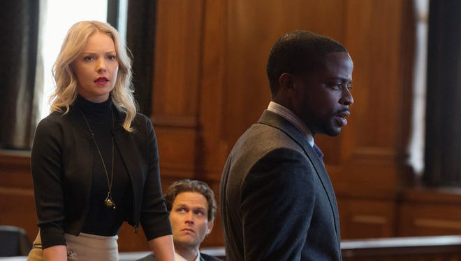 Katherine Heigl, Steven Pasquale and Dulé Hill star in CBS's 'Doubt.'