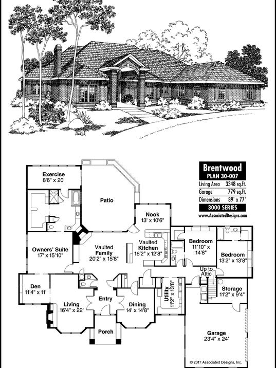 Brentwood house plan for Brentwood house plan
