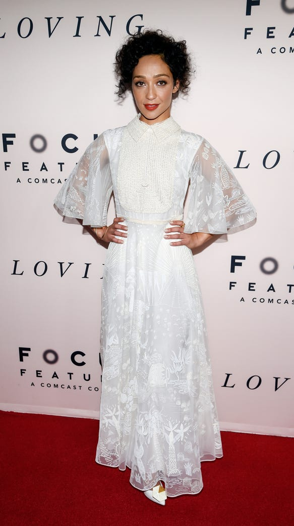 At the 'Loving' premiere at the Samuel L. Goldwyn Theater