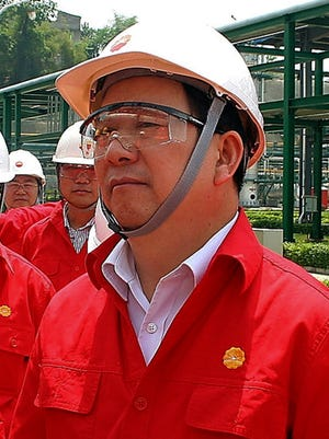 Liao Yongyuan, vice chairman of PetroChina Ltd.