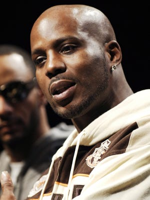 ** FILE **  In this Jan. 13, 2006 file photo, rapper DMX is shown in New York.   (AP Photo/Louis Lanzano, file)