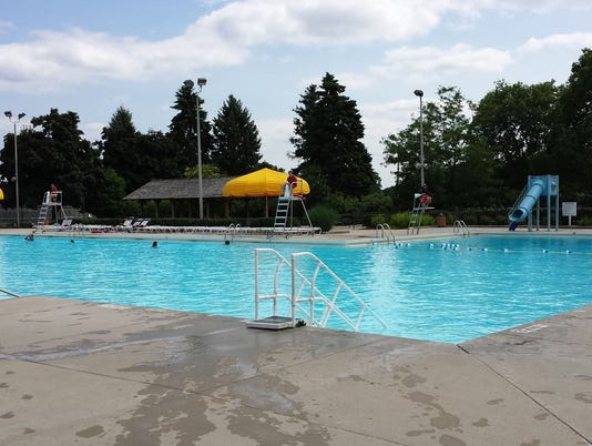 Wirth Pool in Brookfield
