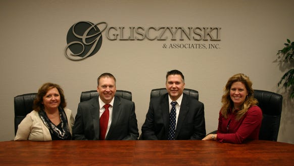 Staff members of the Kronenwetter office of Glisczynski