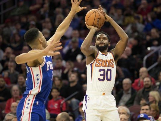 NBA: Phoenix Suns at Philadelphia 76ers
