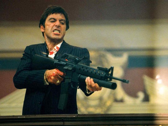 "Al Pacino in ""Scarface."""