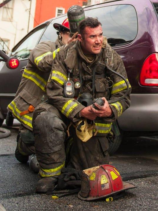 York City Firefighter Zachary Anthony