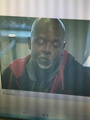 Man who the Macomb County Sheriff's Office said robbed Talmer Bank & Trust, 100 North Main, in Mt. Clemens on March 30, 2016.