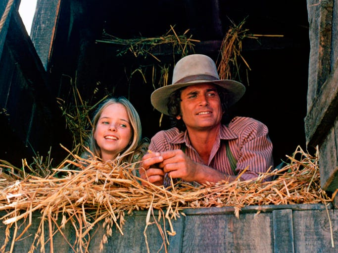 "The family series turns 40 with a special Blu-Ray/DVD release of seasons one and two. Melissa Sue Anderson (""Mary Ingalls"") and Michael Landon (""Charles Ingalls"") in a scene from the family-friendly series."